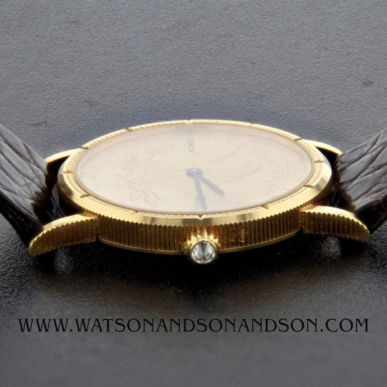 Midsize Corum Us 10 Dollar Gold Coin Watch 6