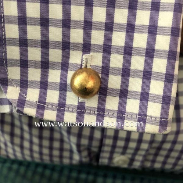 14k Domed Cufflinks 4