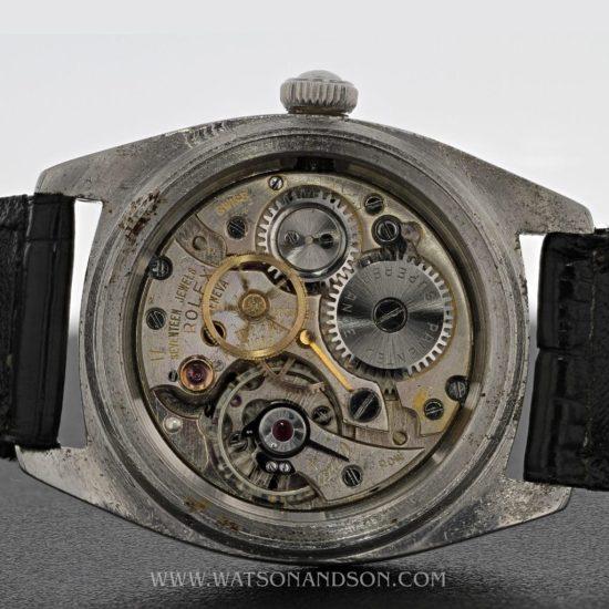 Rolex Oyster Army Strap Watch 2