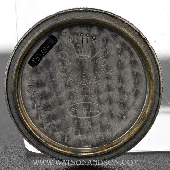 Rolex Oyster Army Strap Watch 3