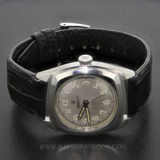Rolex Oyster Army Strap Watch 1