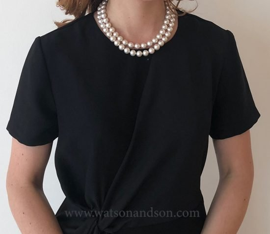 South Sea Double Strand Of Pearls 3