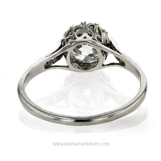 Platinum Diamond Engagement Ring 3
