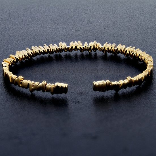 18K Rose Gold Baguette Cuff Designed By Suzanne Kalan 6
