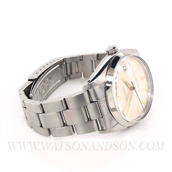 Stainless Steel Rolex Oysterdate Precision Bracelet 3