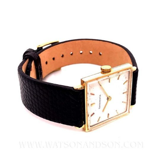 Vintage Tiffany Watch 9