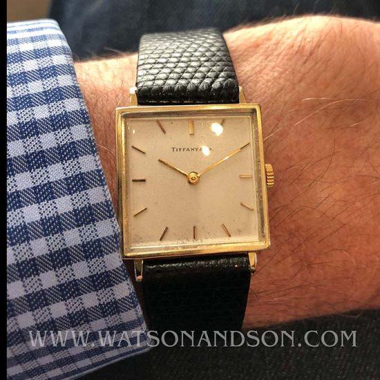 Vintage Tiffany Watch 10
