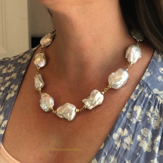 South Sea Baroque Pearl Necklace 3