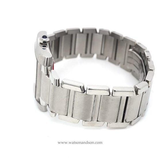 Stainless Steel Cartier Tank Francaise 4