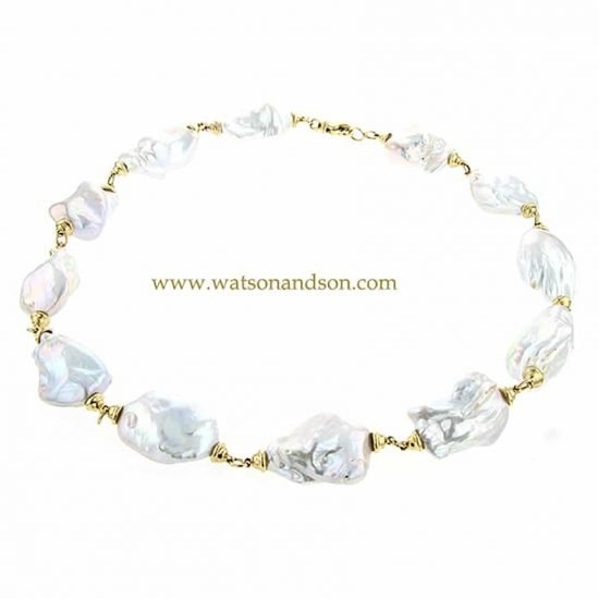 South Sea Baroque Pearl Necklace 1
