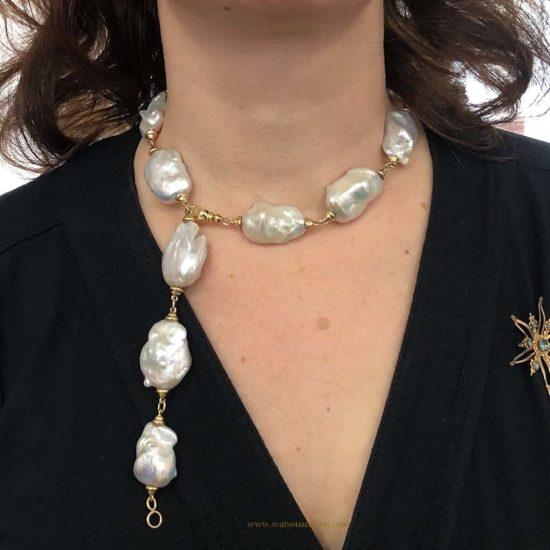 South Sea Baroque Pearl Necklace 4