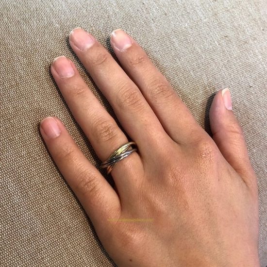 Cartier Trinity Rolling Ring 4