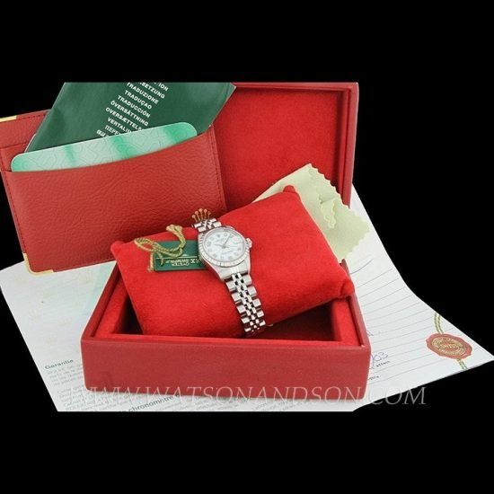 Ladies Steel Rolex Bracelet Watch 4