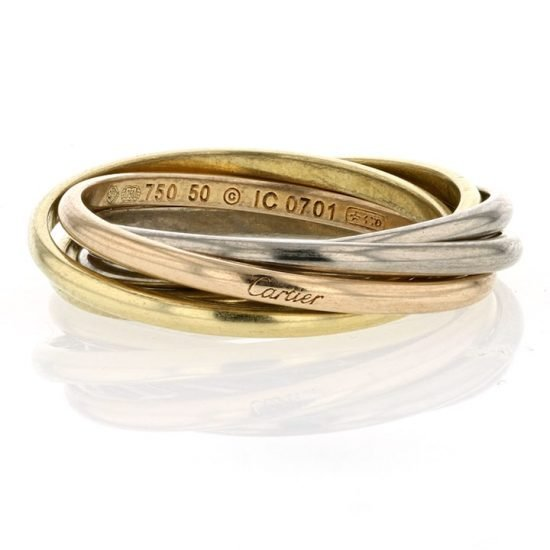 Cartier Trinity Rolling Ring 1