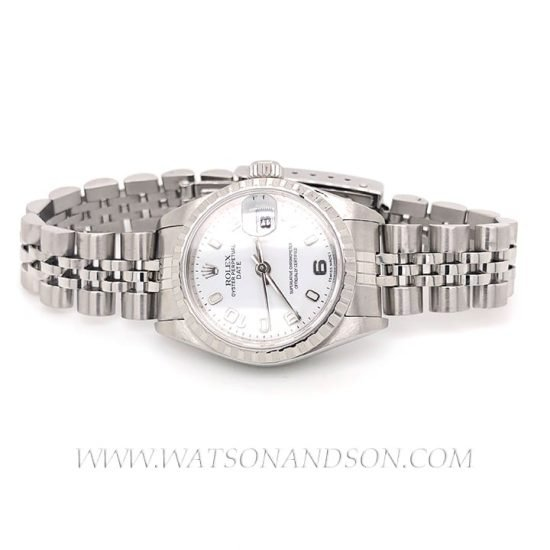 Ladies Steel Rolex Bracelet Watch 1