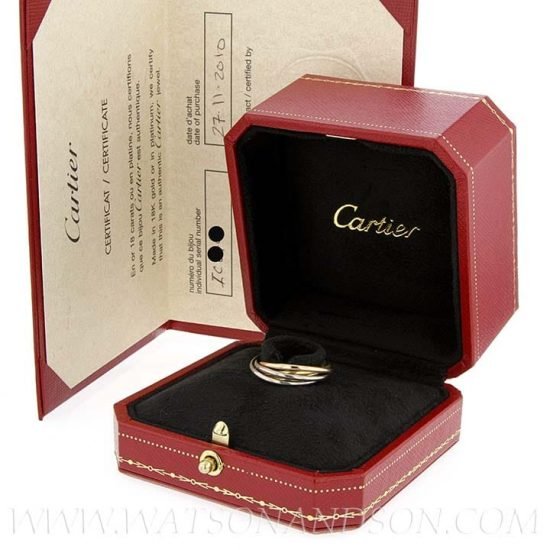 Cartier Trinity Rolling Ring 3