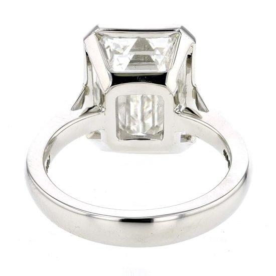 Custom Designed Infinity Edge Bezel Set Diamond 2