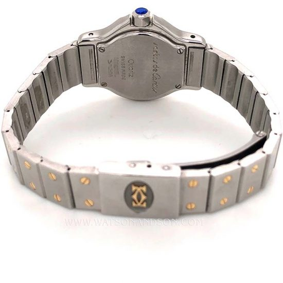 Ladies Cartier Santos Octagonal 3