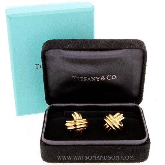 Tiffany Signature X Ear Clips 3