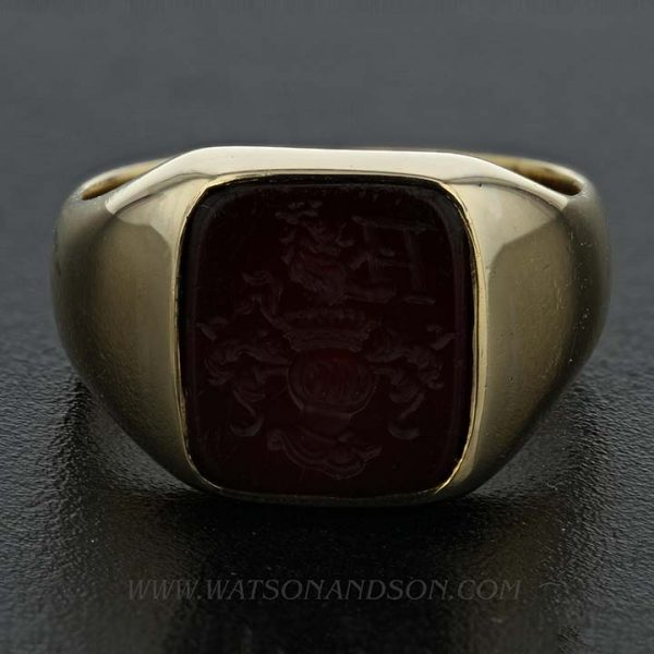 Gold Intaglio Ring 2