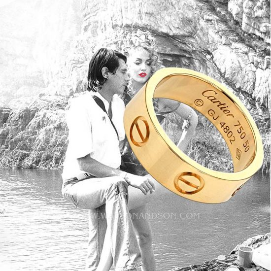 Cartier Love Ring In Yellow Gold 4