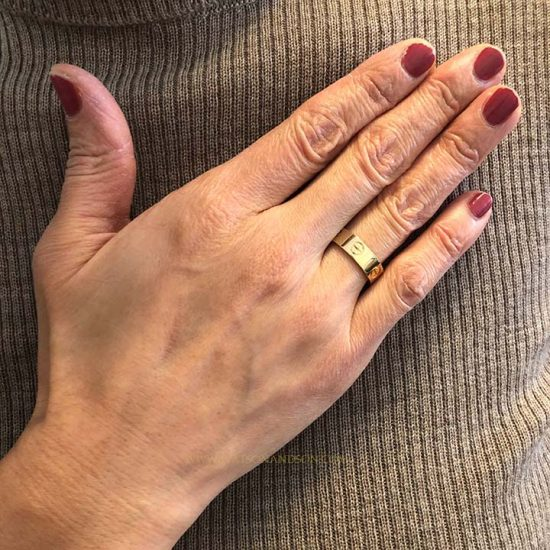 Cartier Love Ring In Yellow Gold 3