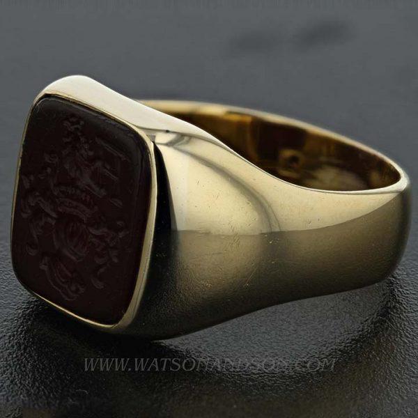 Gold Intaglio Ring 4