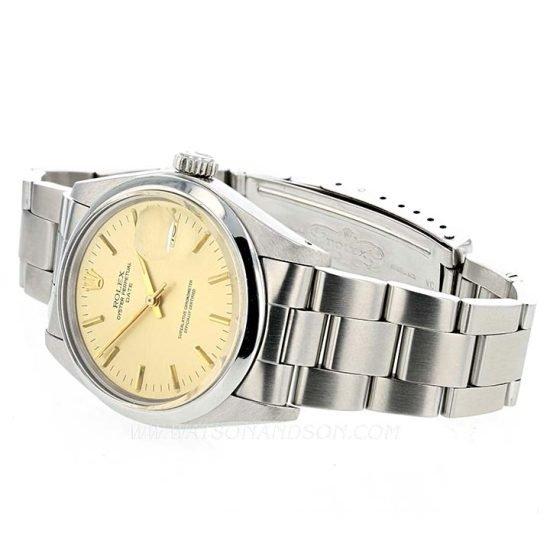 Unisex Rolex Perpetual Date Bracelet Watch 3