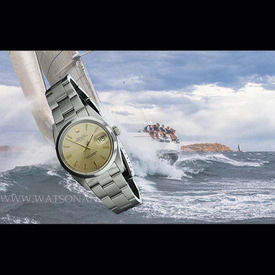 Unisex Rolex Perpetual Date Bracelet Watch 8