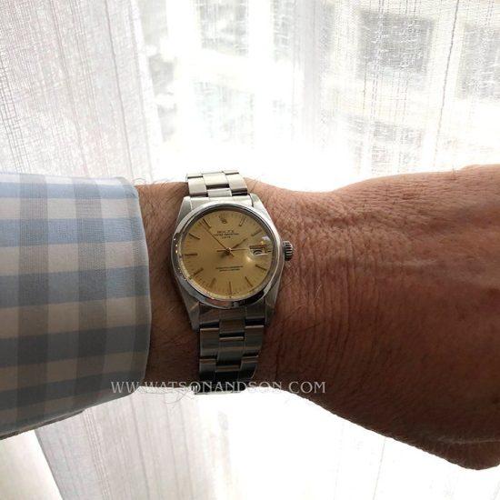 Unisex Rolex Perpetual Date Bracelet Watch 4