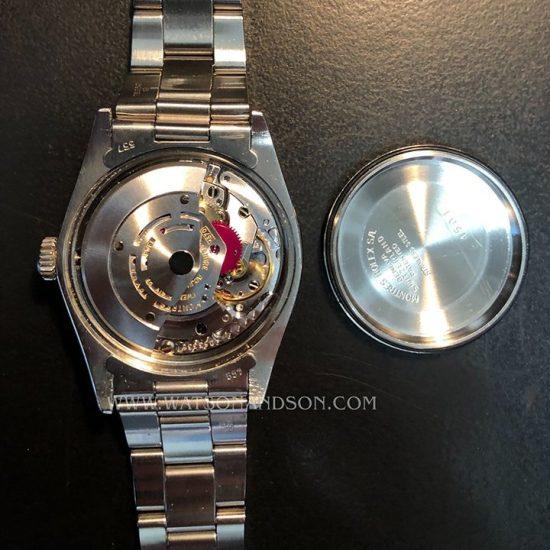 Unisex Rolex Perpetual Date Bracelet Watch 5
