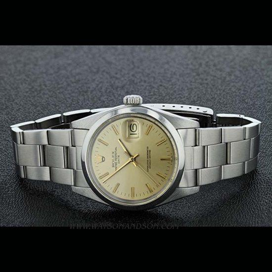 Unisex Rolex Perpetual Date Bracelet Watch 1
