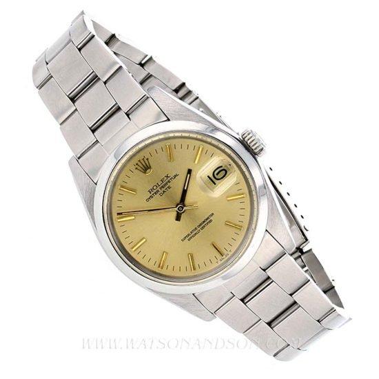 Unisex Rolex Perpetual Date Bracelet Watch 6