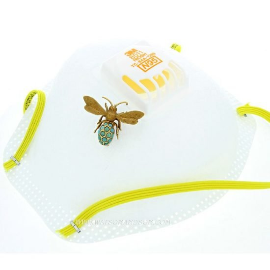 Turquoise Bee Pin &Quot;Florence&Quot; 5