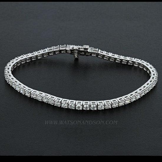 Diamond Tennis Bracelet 1