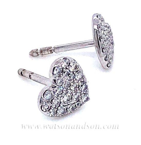 Tiffany &Amp; Co. Pave Diamond Earrings 2