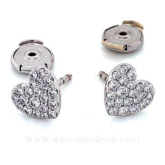 Tiffany &Amp; Co. Pave Diamond Earrings 3
