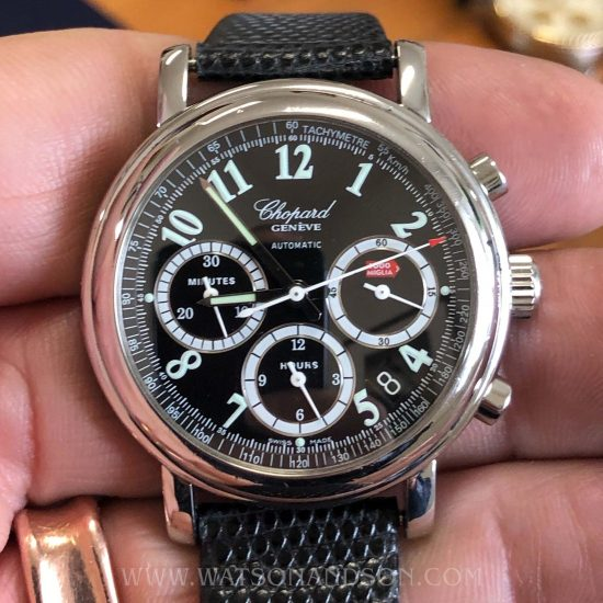 Gents Steel Chopard Mille Miglia Chronograph 6