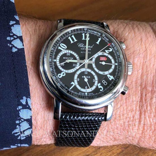 Gents Steel Chopard Mille Miglia Chronograph 5
