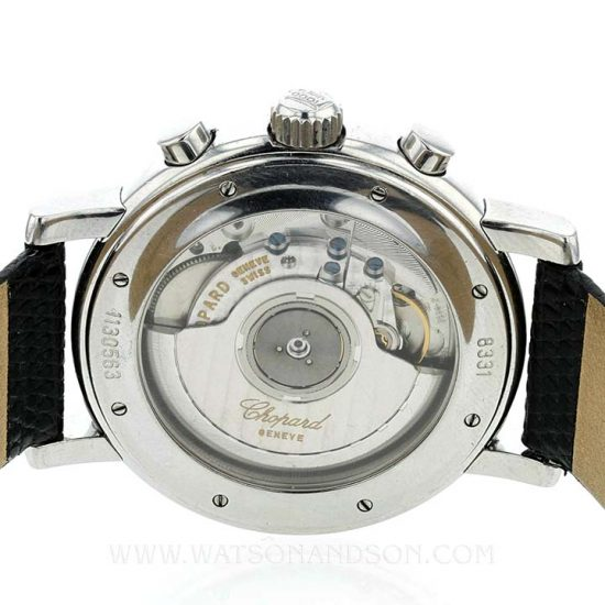 Gents Steel Chopard Mille Miglia Chronograph 2