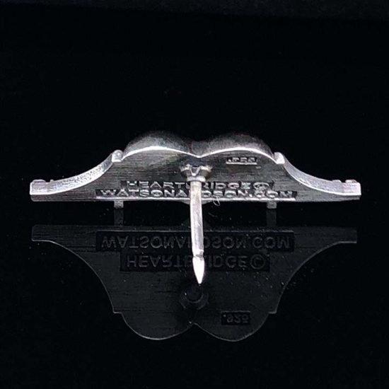Heartbridge Sterling Silver Pin 3