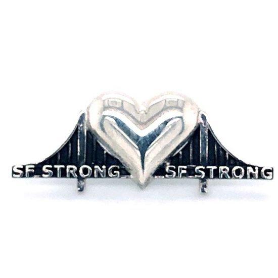 Heartbridge Sterling Silver Pin 1