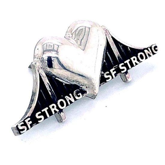 Heartbridge Sterling Silver Pin 5