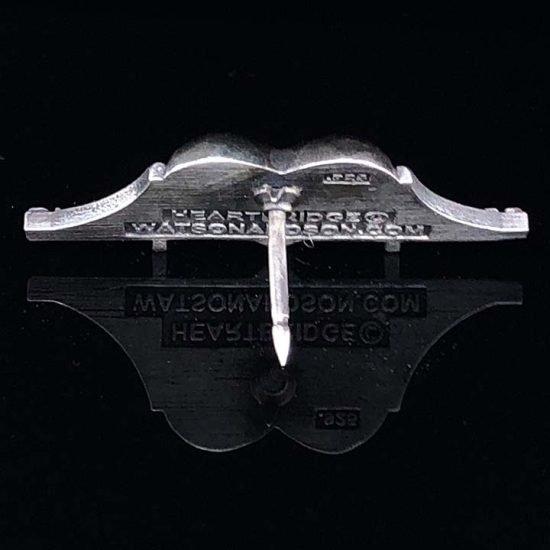 Heartbridge Sterling Silver Pin 6