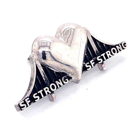 Heartbridge Sterling Silver Pin 7