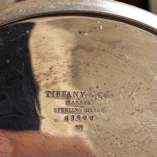 Tiffany Silver Coffee Pot 3