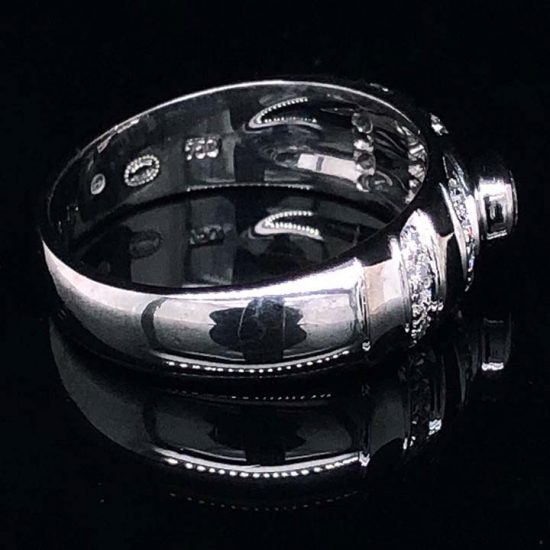 Georg Jensen White Gold Diamond Ring 4