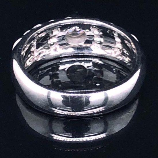 Georg Jensen White Gold Diamond Ring 3