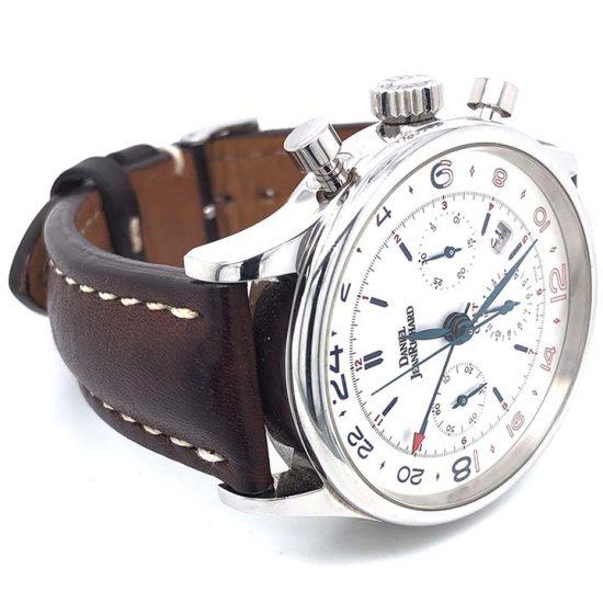 Gents steel Daniel Jean Richard - Bressel Chrono GMT Chronograph 8