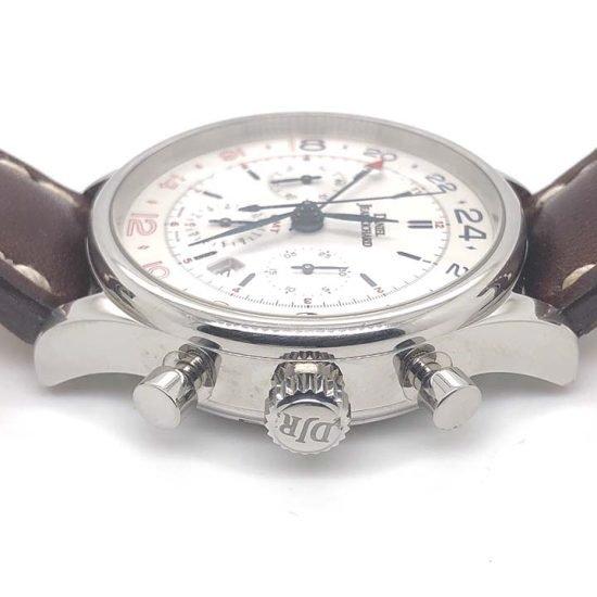Gents steel Daniel Jean Richard - Bressel Chrono GMT Chronograph 5